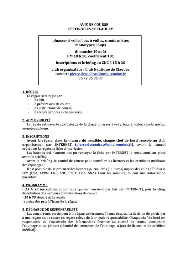 Claouey-AVIS-DE-COURSE